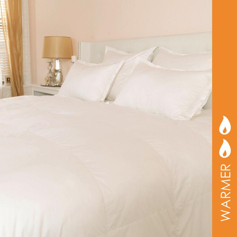400 TC PrimaLoft Pima Cotton Sateen Comforter By DOWNLITE