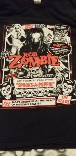 Rob Zombie Tour Shirt