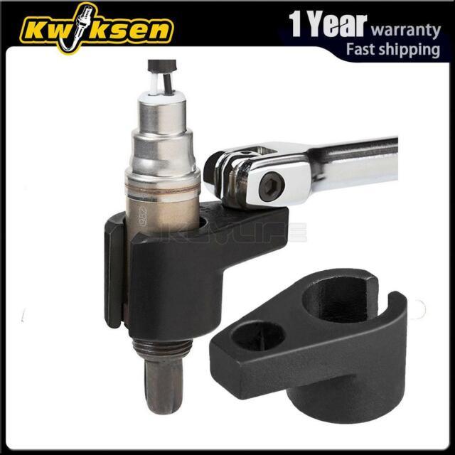 Oxygen Sensor Socket Universal 7//8-Inch and 22mm Offset Oxygen O2 Sensor Socket Wrench Removal Tool