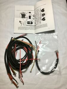 Harley 1930 VL DL Wiring Harness Kit w/ Correct Soldered Ends Dual on harley rolling chassis kits, harley exhaust kits, harley front end kits, harley gas tank kits, harley oil filter kits, harley cable kits, harley decal kits, harley swingarm kits, harley air cleaner kits, harley handlebar wiring extension kits, harley oil cooler kits, harley turbocharger kits, harley air bag kits, harley frame kits, harley supercharger kits, harley engine kits, harley radio kits, harley clutch kits,