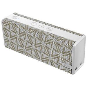 Doss Soundbox Colour 2200mAh 12W Bluetooth/Wireless/Portable Audio Speaker White