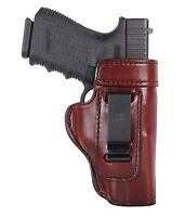 Don Hume Clip On Iwb Holster Glock 43 Brown Rh