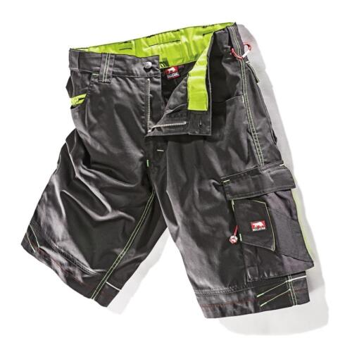 Bull Star Work Hort Work Trousers Ultra Black//Lime Size 52