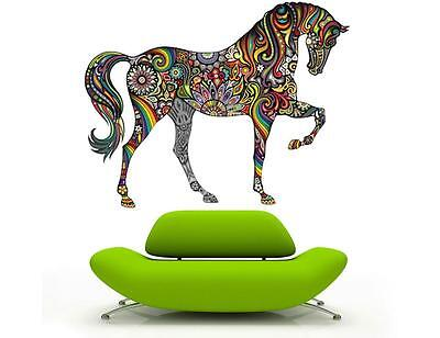Western Horse Wall sticker vinyl Decal Wall Sticker Vinyl Art animal wild Mural