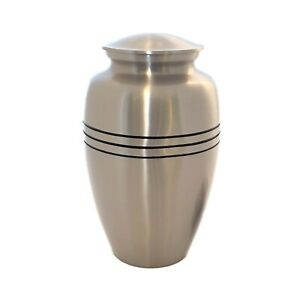 Well Lived® Red Wood Adult Cremation Urn for human ashes