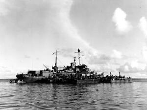 WW2 1943-4 United States Navy Ship Photo USS Oyster Bay