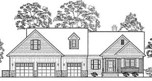 Rancher House Plans 2,125 Sq Ft 3 Bed 2+ Baths PDF