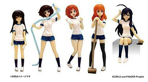 Kb04c GPF-11 1 35 Girls and Panzer Ankou team Figure Set cleaning version