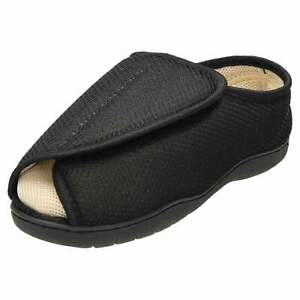 Unisex Extra Wide Fit Open Toe Slippers
