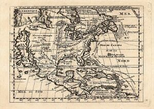 Antique-map-L-039-Amerique-Septentrionale