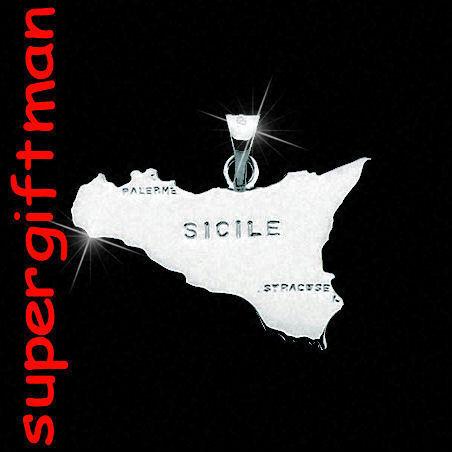 R421 pendentif//hanger LA SICILIA zilver 925 ARGENT !