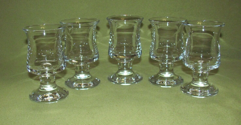 5 Holmegaard Kristallgläser Aperetiv Gläser; Design Per Lütken | Viele Stile