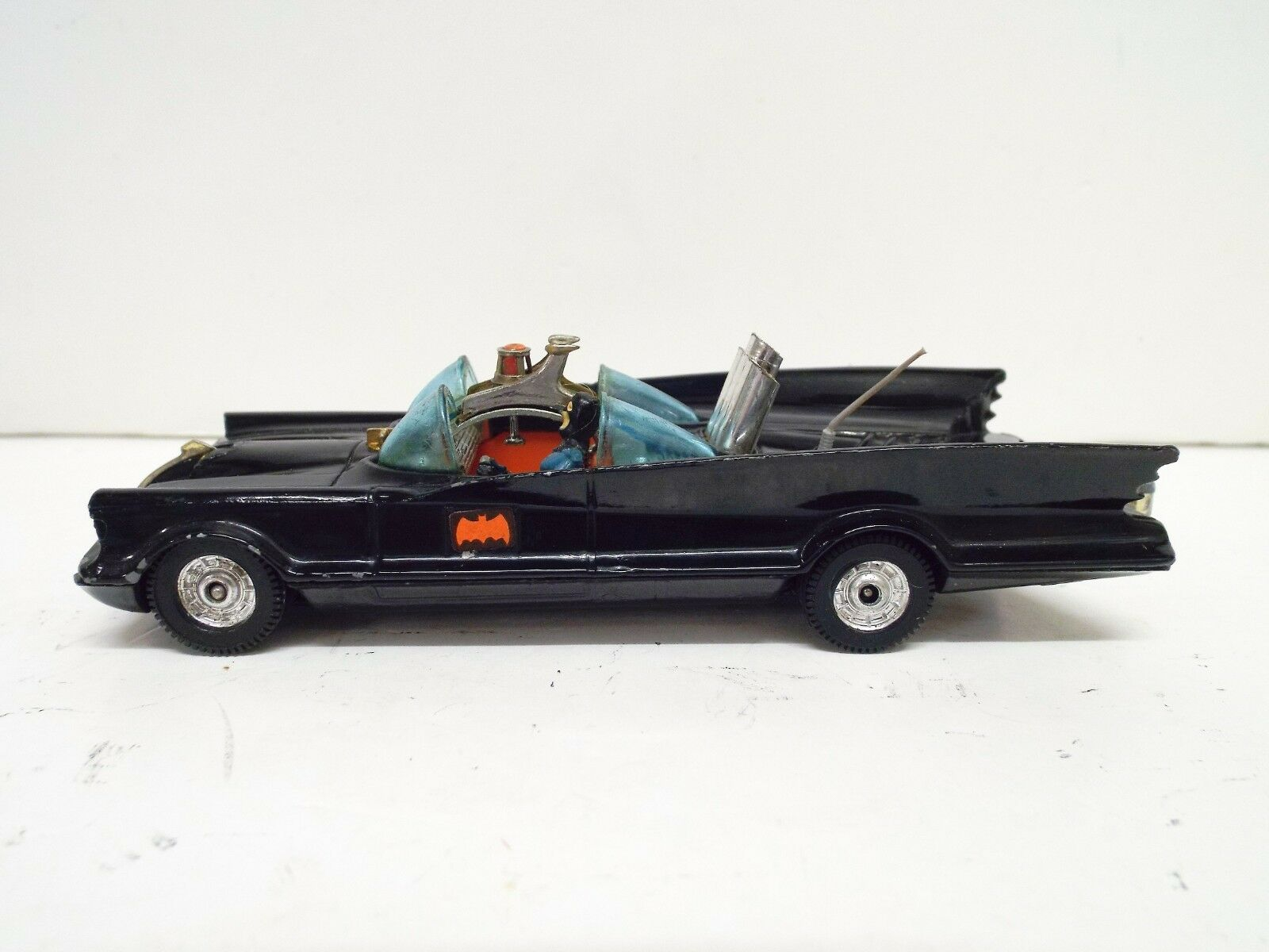 CORGI 267 BATMOBILE 1976 Whizz roue version avec Batman EXC carton (C412)