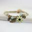 miniature 12 - Bracelet Flower Daisy Beads Girls Ceramic Charm Jewellery Silver Ankle Girls