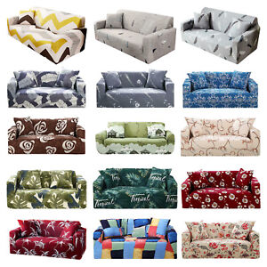1-2-3-4-Seater-Slipcover-Stretch-Couch-Sofa-Lounge-Cover-Recliner-Chair-Elastic