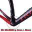 TRIFOX-Carbon-Road-Frame-disc-brake-Di2-Mechanical-Racing-Bike-Carbon-Road-Frame miniature 8