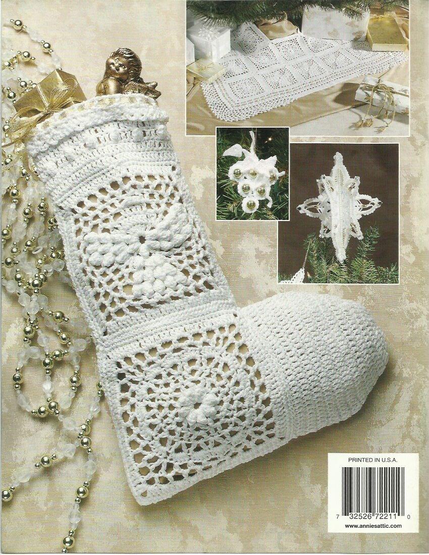 Annie\'s Attic Crochet Ultimate Elegant Christmas Tree Pattern Book ...