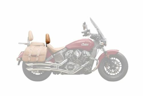 INDIAN MOTORCYCLE CHROME EXTENDED REACH DRIVER BACKREST SUPPORT 2015-2020 SCOUT