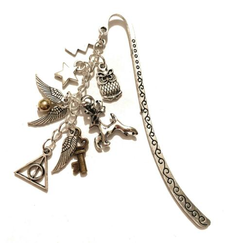Harry Potter Segnalibro Doni della Morte Boccino d/'Oro Saetta Hogwarts Always