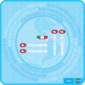 Columbus nemo vélo autocollant Transfert Décalcomanie-lot 22