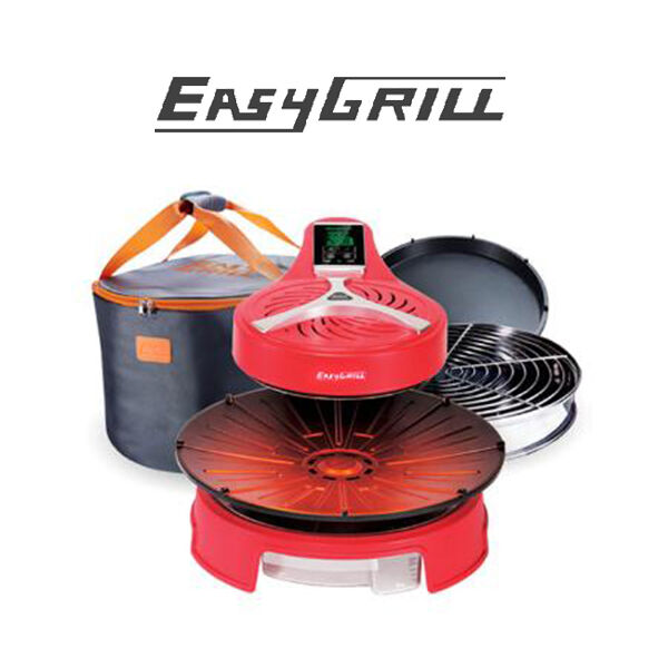 Roaster Electric Grill Magic Cook EZ-001 rouge + (bag + 3 components)