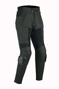 Nue-Damen-Motorradlederhose-Motorradhose-Touring-Rindsleder-Touring-Kombihose