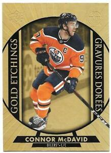"""2020-21 Upper Deck UD Tim Hortons Hockey Gold Etchings """"You Pick from list"""""""