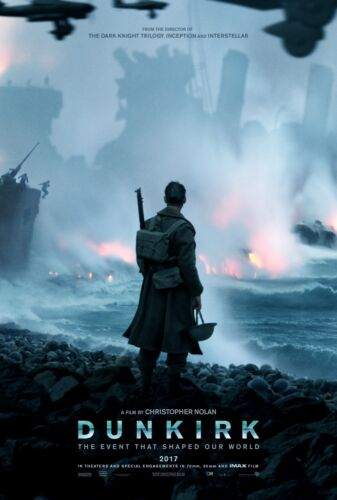 """DUNKIRK 2017 Advance Teaser DS 2 Sided 27X40/"""" US Movie Poster Christopher Nolan"""