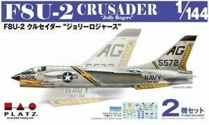 PLATZ-1-144-US-F8U-2-CRUSADER-Jolly-Rogers-2pcs-Set-Kit-45457820-PDR-6-115mm