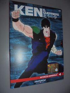 DVD-N-4-KEN-EN-GUERRIERO-ATTACCO-GENERALE-REVISTA-DE-DEPORTE