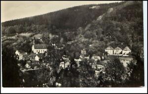 RUHLA-Thueringen-alte-AK-DDR-1958-Blick-nach-Breitenberg