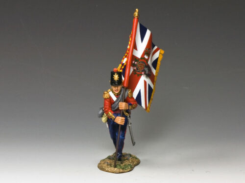CR002 Subaltern with The Queen/'s Colour by King and Country