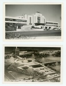 2-NEW-YORK-AIRPORT-REAL-PHOTO-POSTCARDS-by-Enell-LaGuardia-amp-NY-International