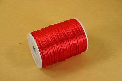 2.5mm Rattail Cord Chinese Knot Rat-Tail Jewelry Making Braid 100 YARDS