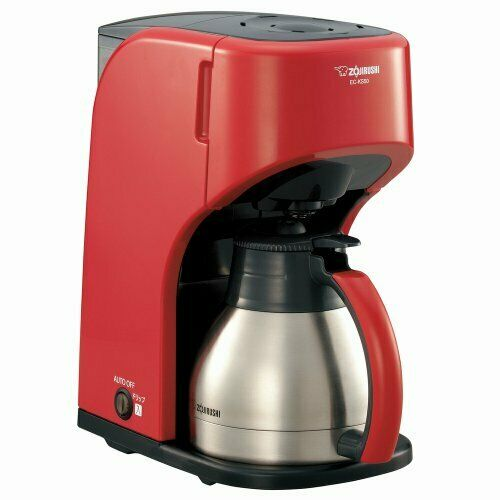 ZOJIRUSHI coffee maker Red EC-KS50-RA cup about 1 5 cups fromJAPAN