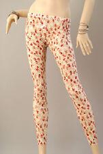 %SALE% Wunderschöne SPITZEN DAMEN LEGGINGS Leggins Legins Blumen-Muster A1