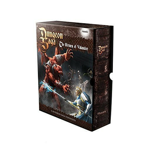 Dungeon Saga Expansion - The Return of Valandor