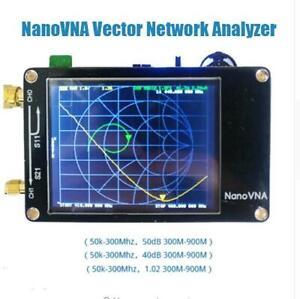 2-8inch-LCD-HF-VHF-UHF-UV-Vector-Network-Analyzer-50KHz-300MHz-Antenna-Analyzer
