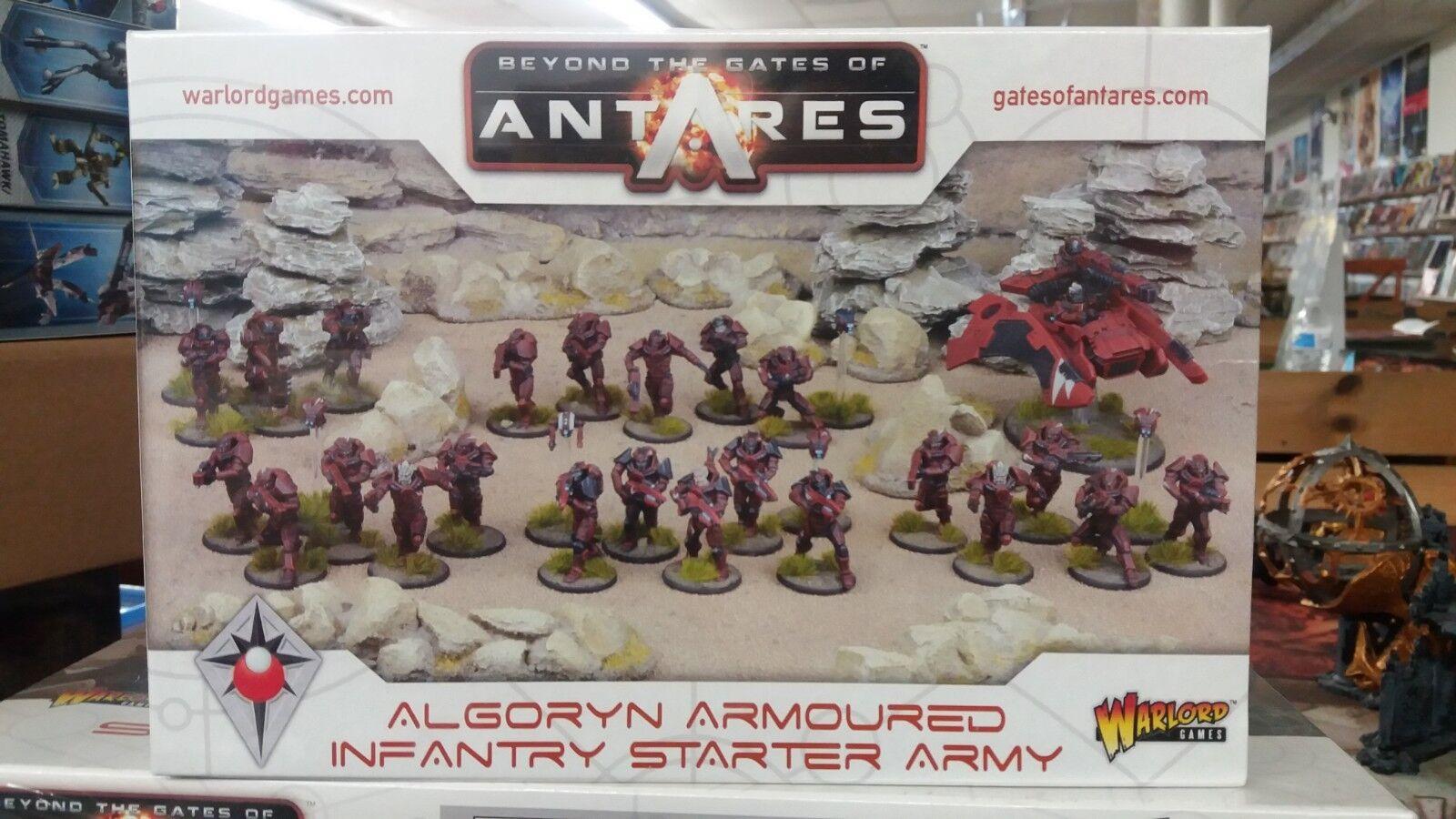 Más allá de las puertas de Antares  algoryn blindado infantería Estrellater Set SEALED