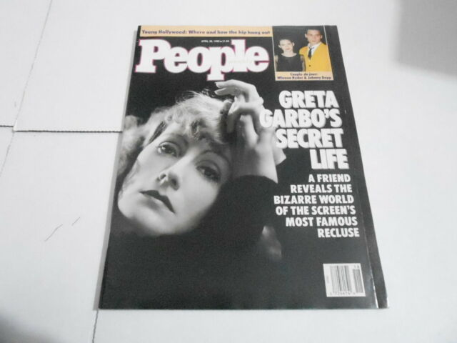 APRIL 30 1990 PEOPLE magazine (NO LABEL) UNREAD - GRETA GARBO SECRET LIFE