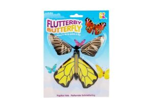Flutterby-Mariposa-NV205-de-cuerda-IT-UP-Y-Flutters-Away-de-Colores-Juguete