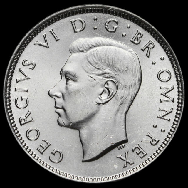 1946 George VI Silver Two Shilling Coin / Florin, AU