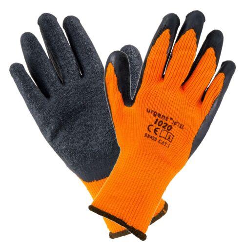1-480 paire de gants de travail hiver urgent 1020 Doublure Chaud Gants