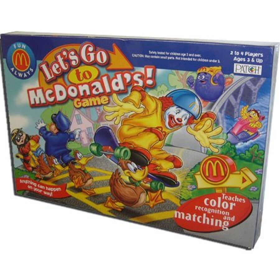 Lets Go to Mcdonald's Board Game