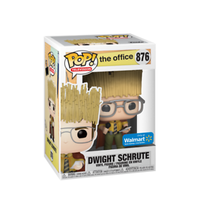 Funko Pop The Office Dwight Schrute as Hay King Walmart Exclusive Mint SafeShip
