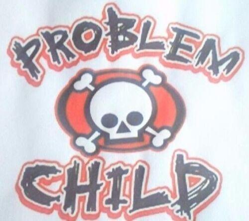 PROBLEM CHILD A5  IRON ON T SHIRT TRANSFER
