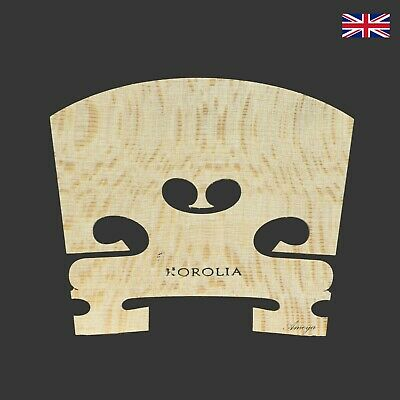 Musical Instruments & Gear String Korolia Viola Bridge Economy St 4/4 48mm Lustrous Surface