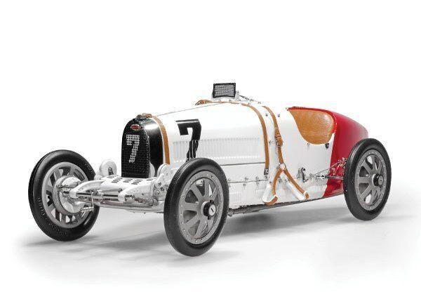 1924 Bugatti T35 Polonia Automodello Metallo da Cmc in 1:18 Scala { 100 } B003