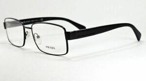 81667f5fd554 PRADA eyeglasses VPR 53R 1BO-1O1 Matte Black FRAME 54-17-140 ITALY ...