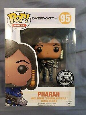 Funko Pop! - Overwatch Titanium Pharah - Blizzard Store Exclusive  889698140751 | eBay